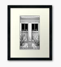 Window Stars... Framed Print