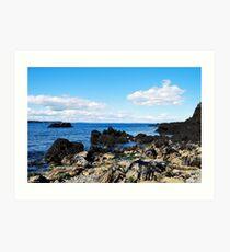 """ Bay of Fundy Shores "" Art Print"