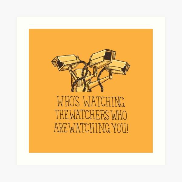 Surveillance Art Print
