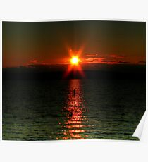 """""""Starry-Eyed"""" Sunset Poster"""