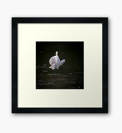 Shakin' All Over Framed Print