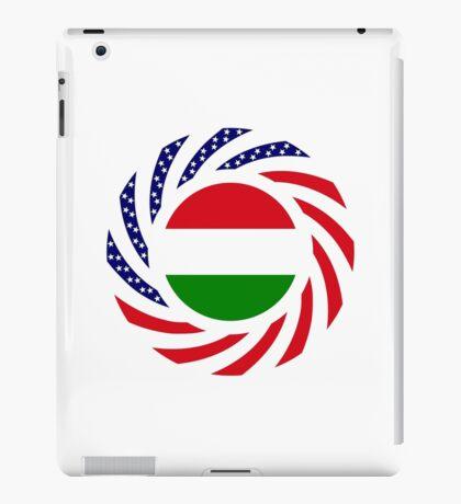 Hungarian American Multinational Patriot Flag Series iPad Case/Skin