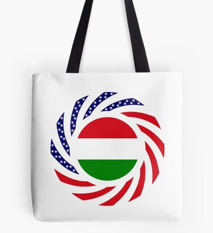 Hungarian American Multinational Patriot Flag Series Tote Bag