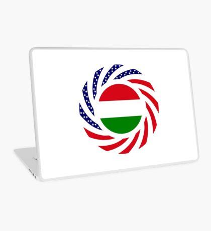 Hungarian American Multinational Patriot Flag Series Laptop Skin