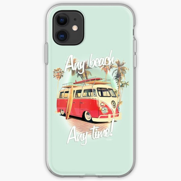 camper van  iPhone Soft Case