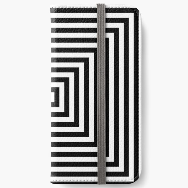 #Illusions gif, #abstract, #design, #pattern, art, illustration, twirl, hypnosis, twist, target, spiral iPhone Wallet