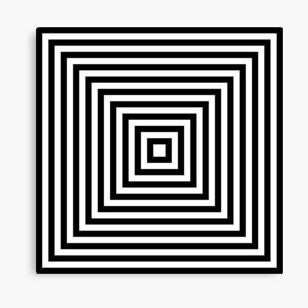 #Illusions gif, #abstract, #design, #pattern, art, illustration, twirl, hypnosis, twist, target, spiral Canvas Print