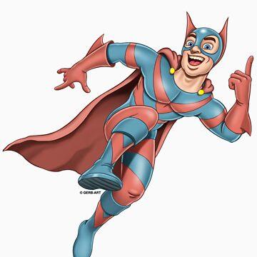 Superheroes - Sharp Ears by GerbArt