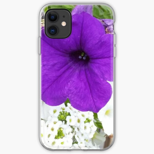 Purple Bloom Collection iPhone Soft Case