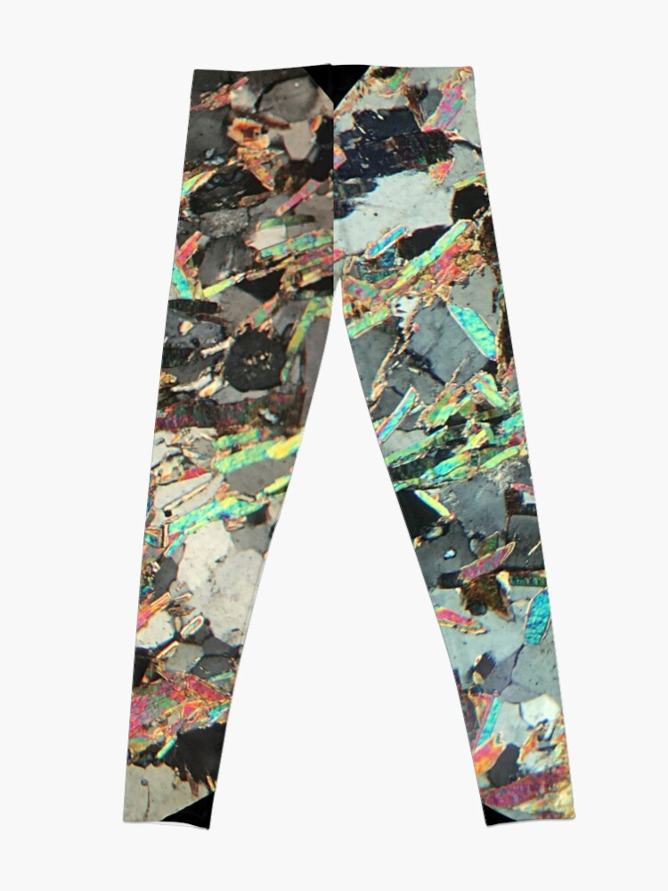 Alternate view of Mica Schist thin section Leggings