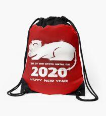 Ratte ist ein Symbol für das chinesische Neujahr 2020 Turnbeutel