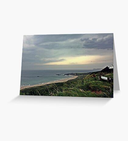 Deserted Beach Greeting Card