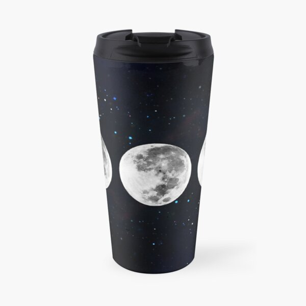 Phases of the Moon Galaxy Travel Mug