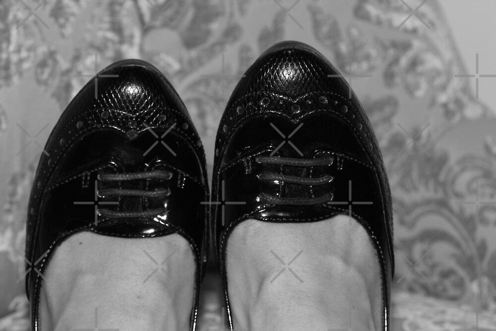 A Special Pair of Black Shoes by Raquel Fletcher
