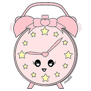 Kawaii Alarm Clock by gigglish