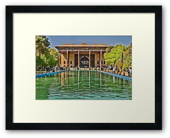 Upon Reflection - Chehel Sotoun - 40 Columns Palace - Esfahan - Iran by Bryan Freeman