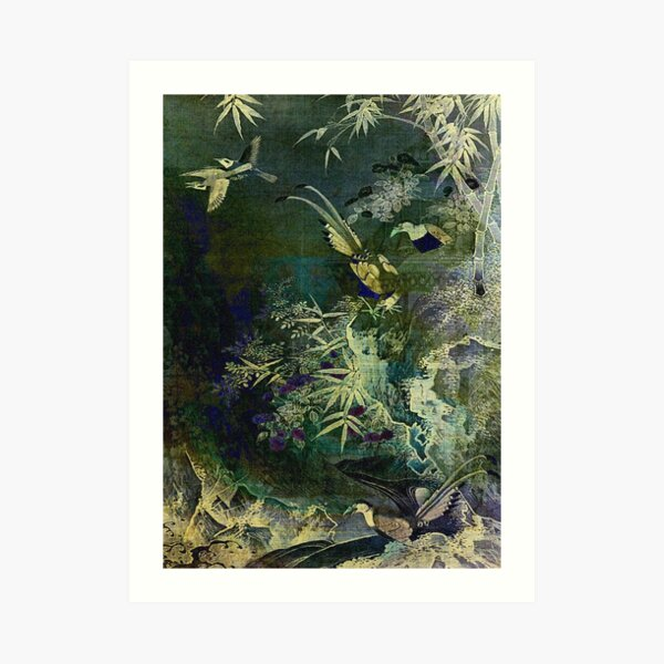 Birds of the Jungle Art Print