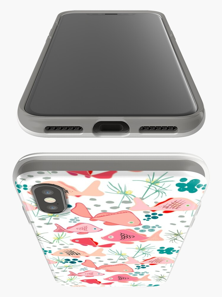 Alternate view of Origami Koi Fish iPhone Case & Cover
