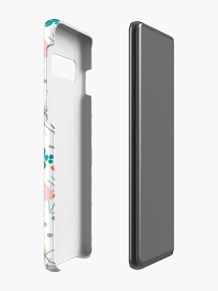 Alternate view of Origami Koi Fish Case & Skin for Samsung Galaxy