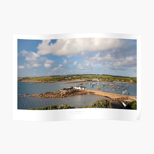 St Mary's, Isles of Scilly Poster