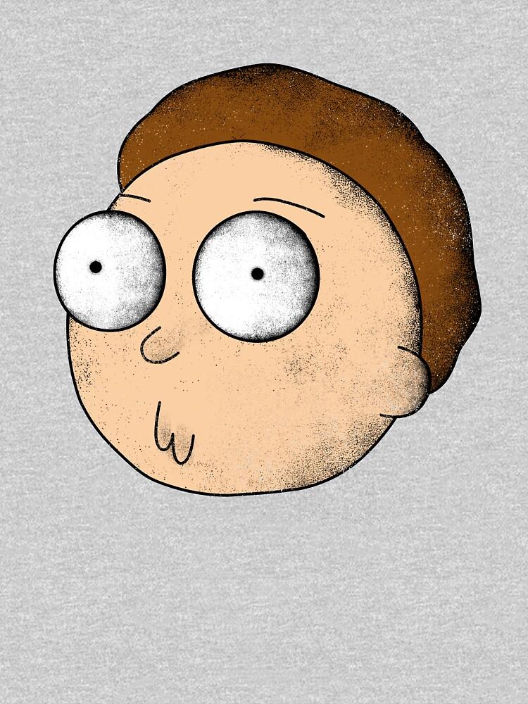 Rick and Morty | Gritty Morty by GroovyRaffRaff