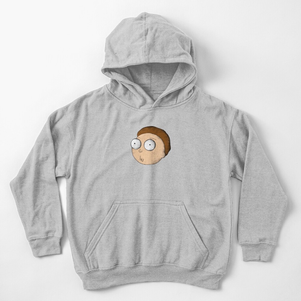 Rick and Morty | Gritty Morty Kids Pullover Hoodie