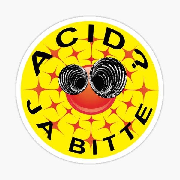 Acid? Ja Bitte III Sticker