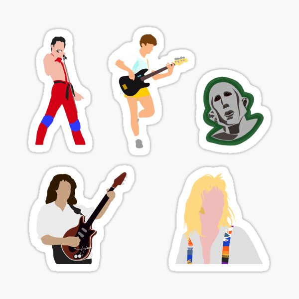 Queen Sticker Pack 1 Sticker