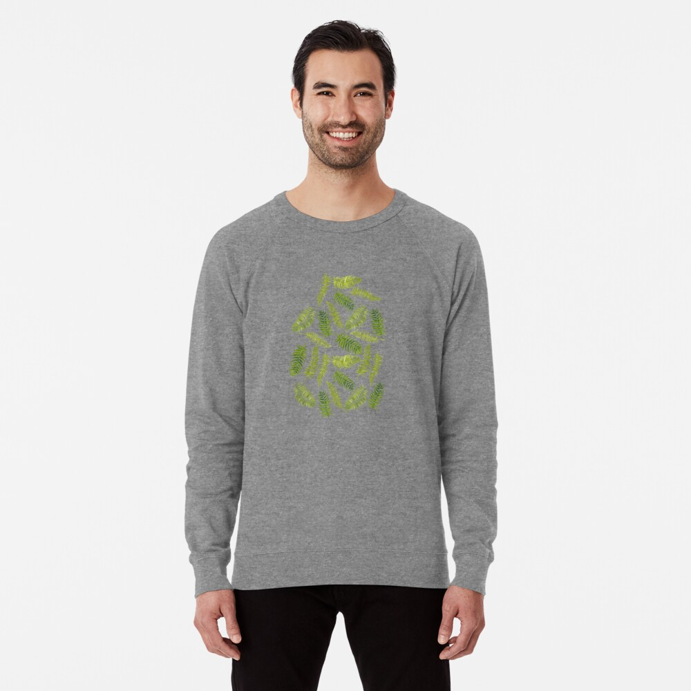 Fern Limelight Lightweight Sweatshirt