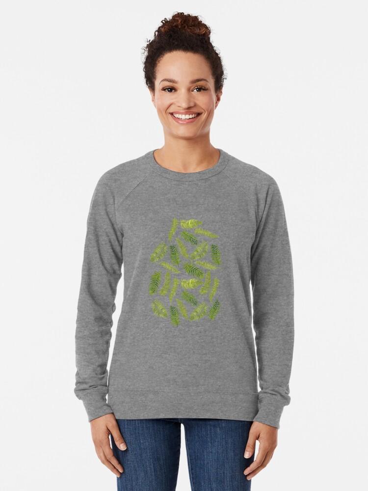 Alternate view of Fern Limelight Lightweight Sweatshirt