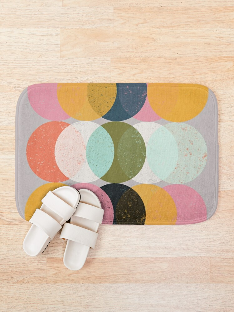 Alternate view of Moods & Moons Bath Mat