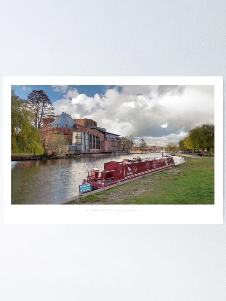 Alternate view of Stratford upon Avon, Warwickshire Poster