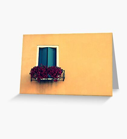 crack the shutters Greeting Card