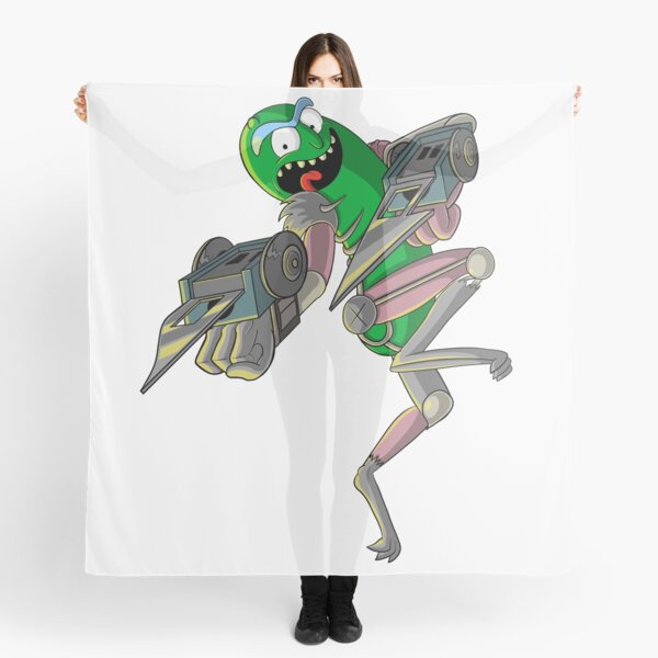 Pickle Rick T-Shirt Scarf