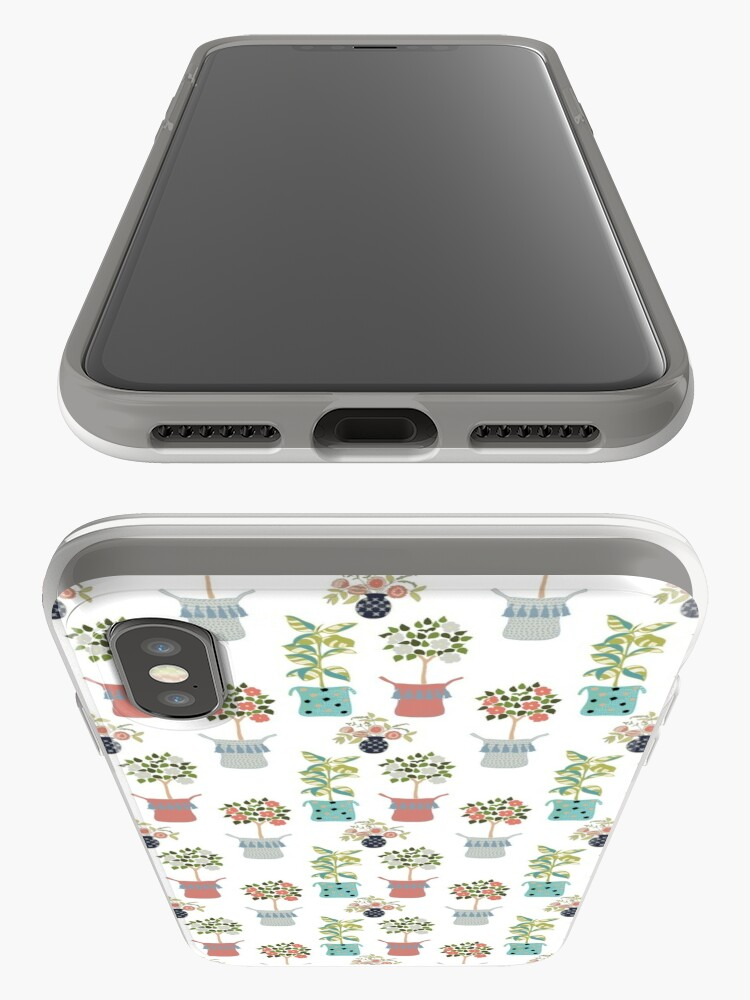 Alternate view of Boho Indoor Plants iPhone Case & Cover