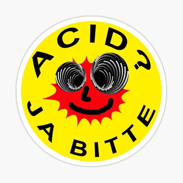 Acid? Ja Bitte Sticker