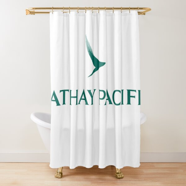 Cathay Pacific Logo Shower Curtain
