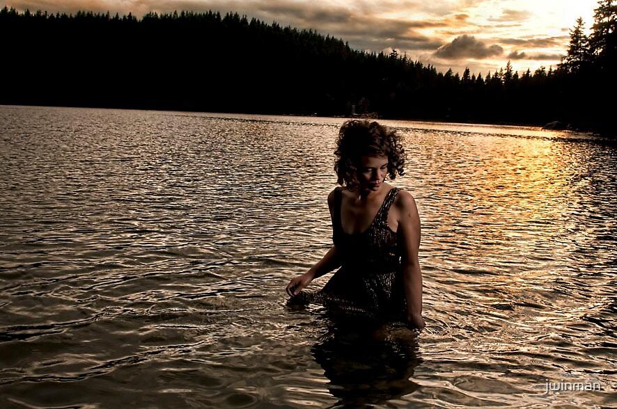 Lady of the lake by jwinman