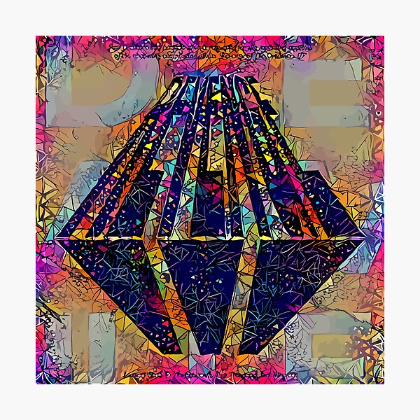 Abstract Revenge of the Dreamers III Photographic Print