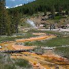 Geothermal Spring by Daniel Owens