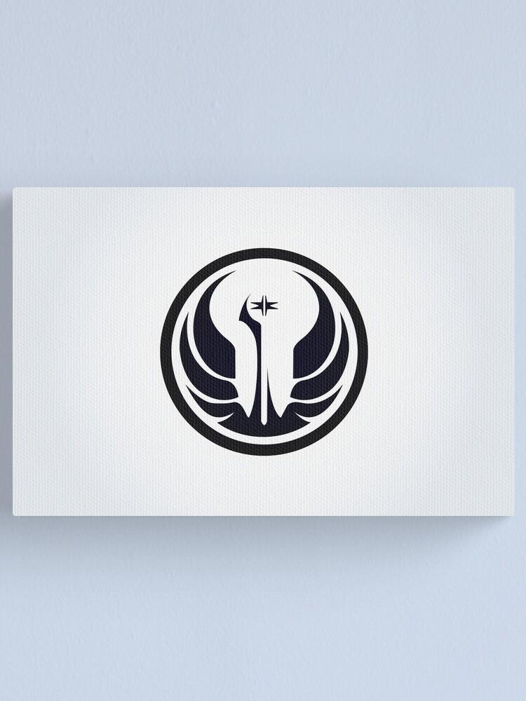 Alternate view of Old Republic Logo Canvas Print