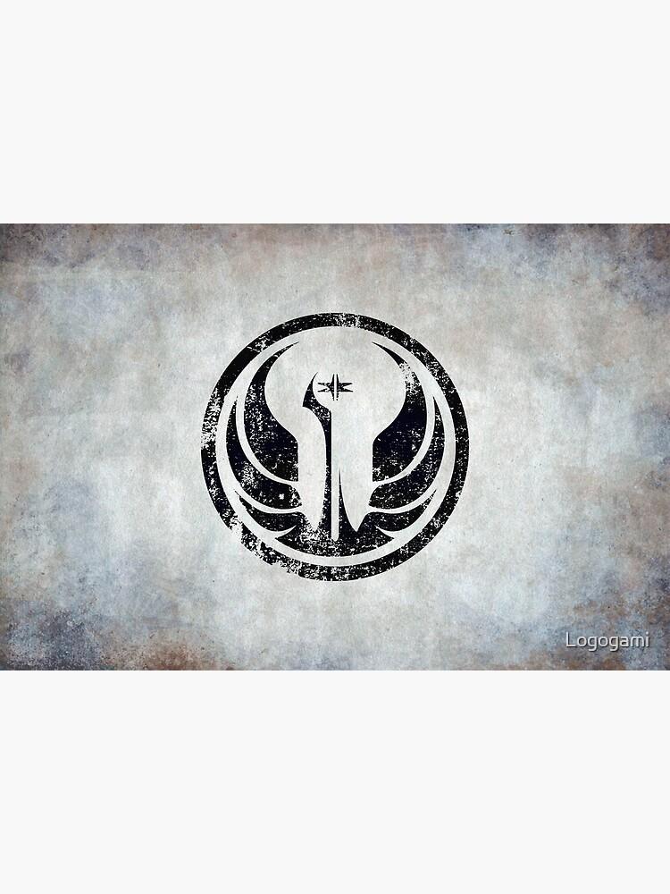 Old Republic Logo · Distressed by Logogami