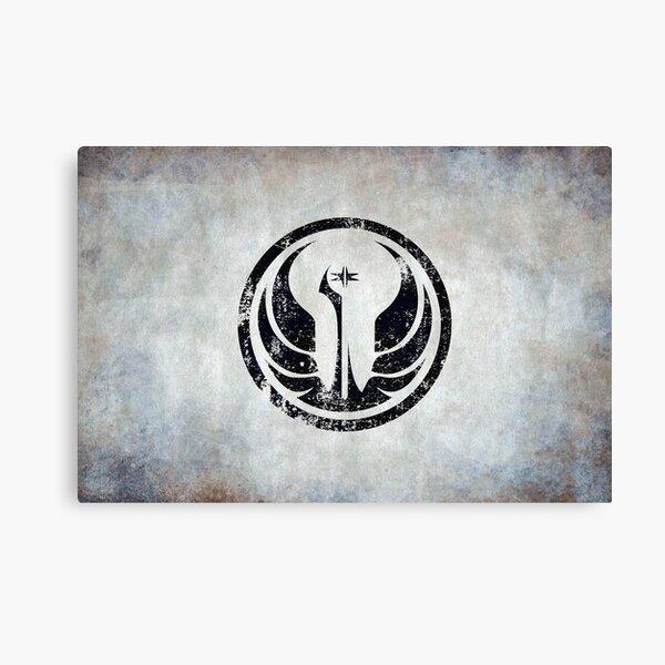 Old Republic Logo · Distressed Canvas Print