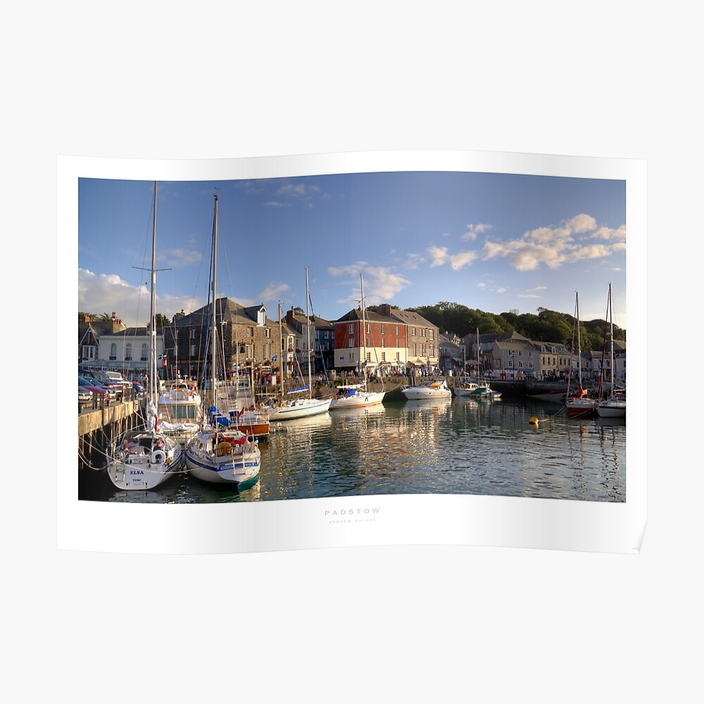 Padstow, Cornwall Poster