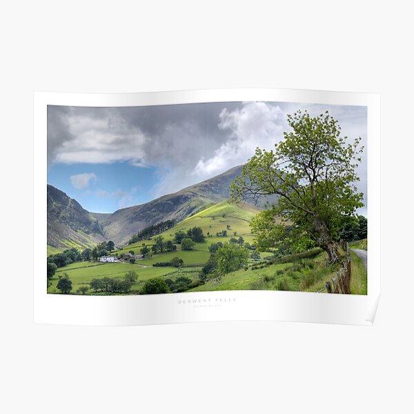 Derwent Fells, Cumbria Poster