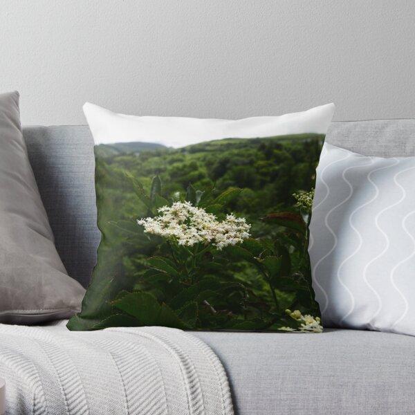 Elder (Sambucus) Throw Pillow