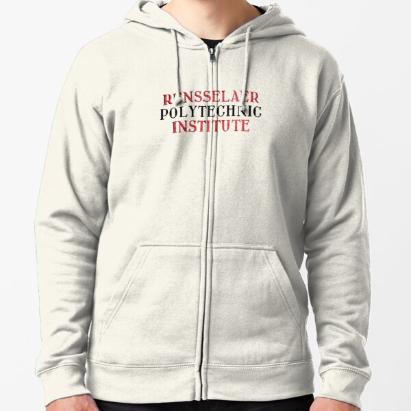 Rensselaer Polytechnic Institute  Zipped Hoodie