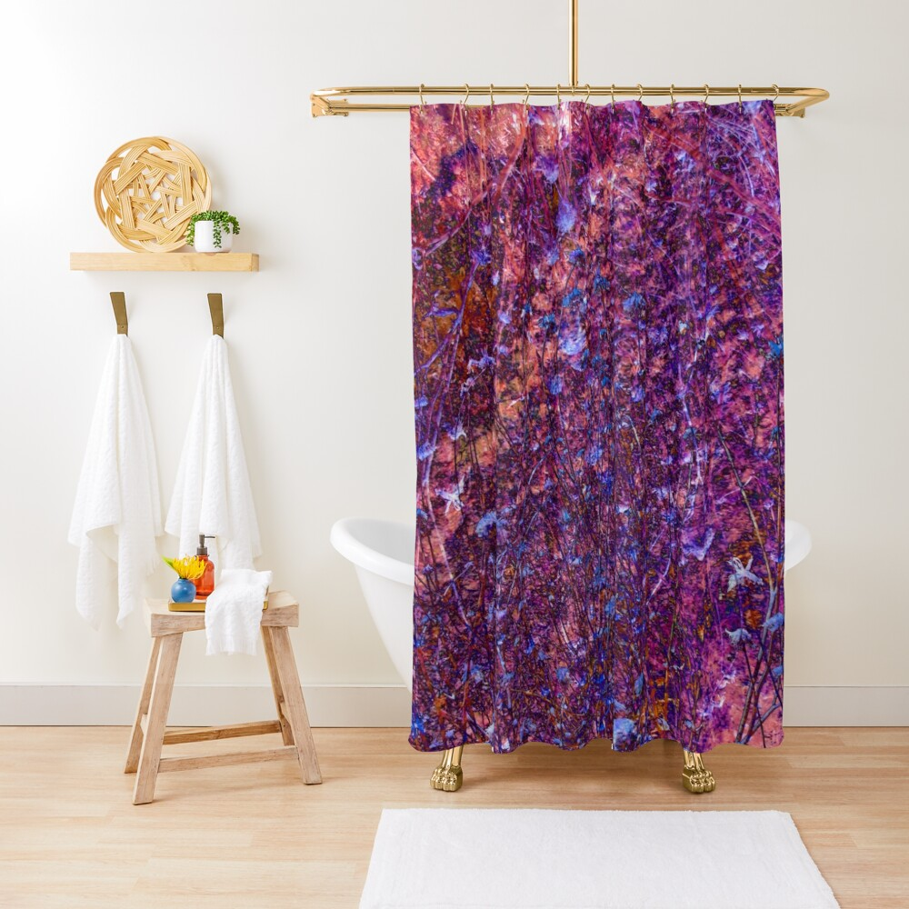 Twigs #11 Shower Curtain