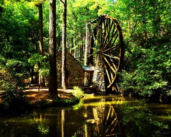 Berry's Mill by Mattie Bryant