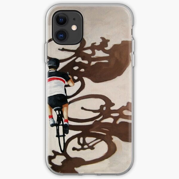 The Cycle Ride 2 - cycling art iPhone Soft Case